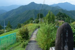 熊野参詣道小辺路 (十津川村)
